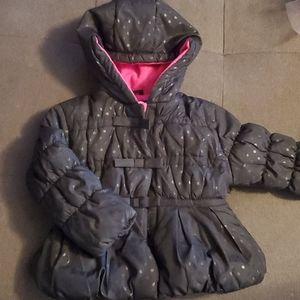 Toddler girls puffy jacket